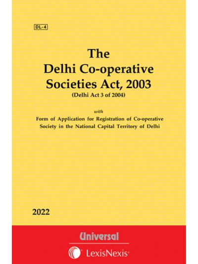 Delhi Co-operative Societies Act, 2003