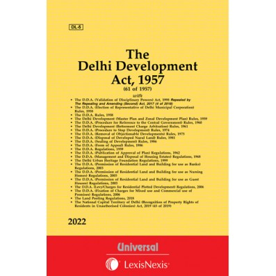 Delhi Development Act, 1957 along with allied Act, Rules & Regulations