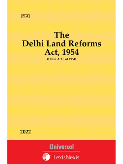 Delhi Land Reforms Act, 1954