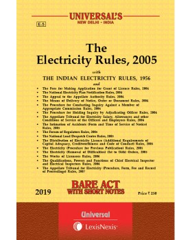 Electricity Rules, 2005 along with allied Rules and Orders