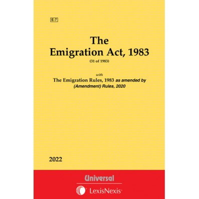 Emigration Act, 1983 along with Rules, 1983 along with Rules, 1983