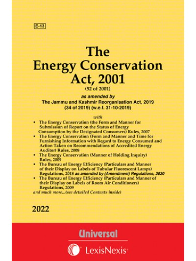 Energy Conservation Act, 2001 along with allied Rules