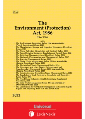 Environment (Protection) Act, 1986 along with allied Rules