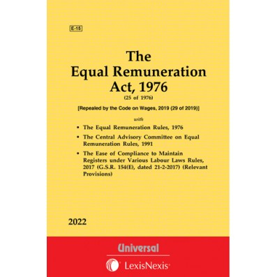 Equal Remuneration Act, 1976 along with allied Rules