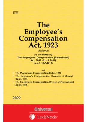 The Employee's Compensation Act, 1923 along with allied Rules