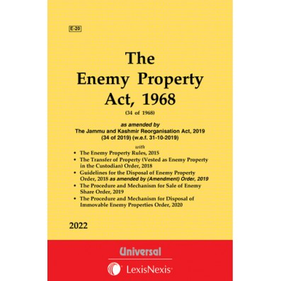 Enemy Property Act, 1968 along with Enemy Property Rules, 2015