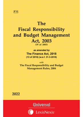 Fiscal Responsibility and Budget Management Act, 2003 along with Rules, 2004