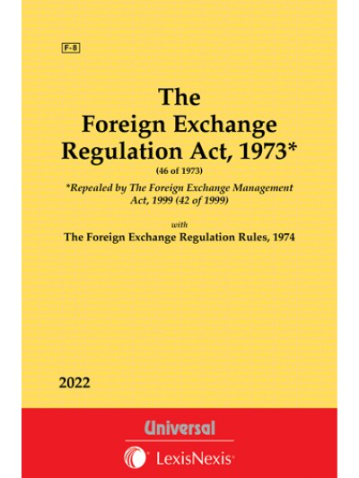 Foreign Exchange Regulation Act, 1973 along with Rules, 1974