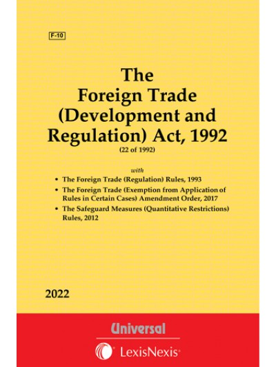 Foreign Trade (Development and Regulation) Act, 1992 along with Rules, 1993