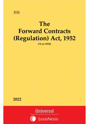 Forward Contracts (Regulation) Act, 1952