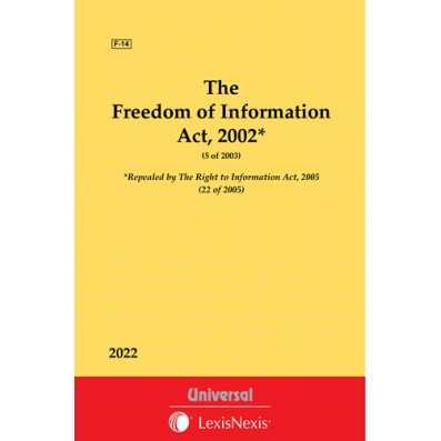 Freedom of Information Act, 2002