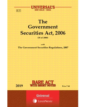 Government Securities Act, 2006 along with Regulations