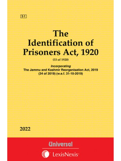 Identification of Prisoners Act, 1920