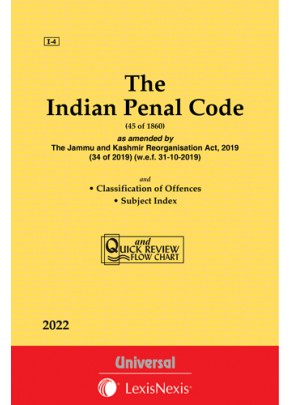 Indian Penal Code, 1860 with Classifications of offences and state Amendments