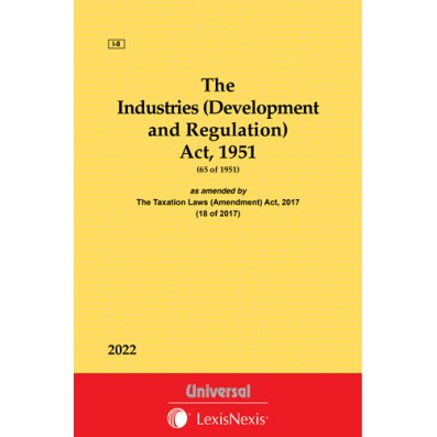 The Industries (Development and Regulation) Act, 1951