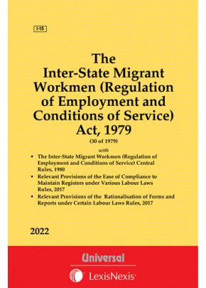 Inter-State Migrant Workmen (Regulation of Employment and Conditions of Service) Act, 1979 along with Rules, 1980