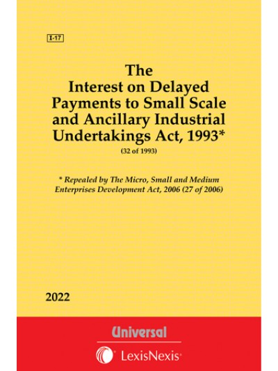 Interest on Delayed Payments to Small Scale and Ancillary Industrial Undertakings Act, 1993