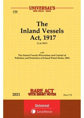 Inland Vessels Act, 1917 with Rules, 2016