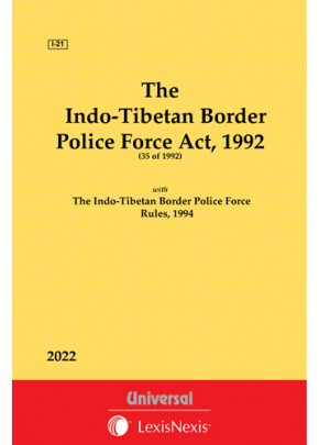 Indo-Tibetan Border Police Force Act, 1992 along with Rules, 1994