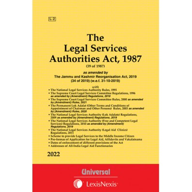 Legal Services Authorities Act, 1987 along with allied Rules and Regulations