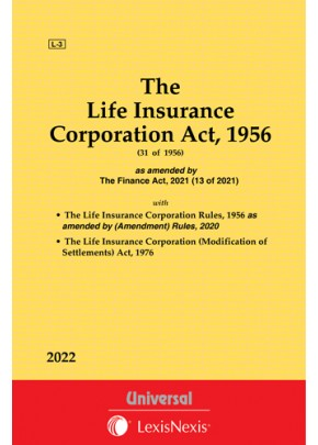 Life Insurance Corporation Act, 1956 along with Rules, 1956