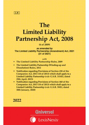 Limited  Liability Partnership Act, 2008 as amended by (Second Amendment) Rules, 2018