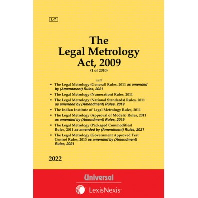 Legal Metrology Act, 2009 along with Allied Rules