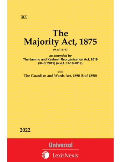 Majority Act, 1875 along with The Guardian and Wards Act, 1890