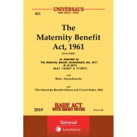 The Maternity Benefit Act, 1961 along with Rules, 1963