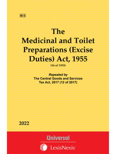 Medicinal and Toilet Preparations (Excise Duties) Act, 1955