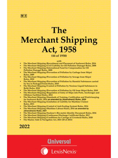 Merchant Shipping Act, 1958 along with allied Rules