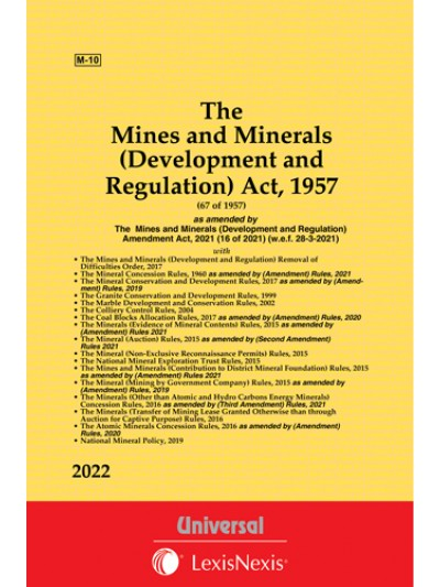 Mines & Minerals (Development and Regulation) Act, 1957