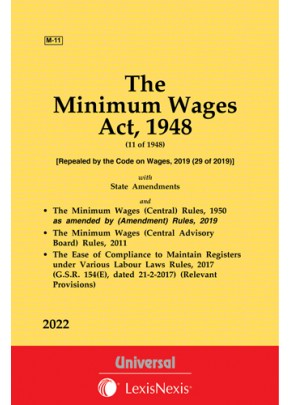Minimum Wages Act, 1948 along with Central Rules, 1950