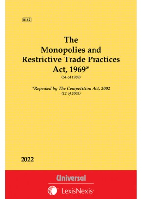 Monopolies and Restrictive Trade Practices Act, 1969