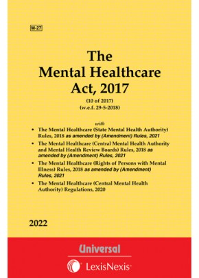 Mental Healthcare Act, 2017