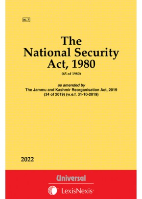 National Security Act, 1980