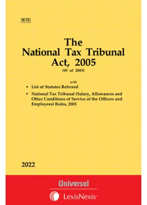 National Tax Tribunal Act, 2005