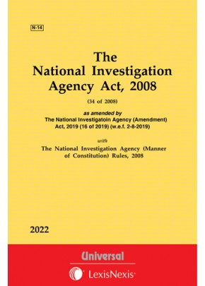National Investigation Agency Act, 2008