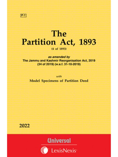 Partition Act, 1893