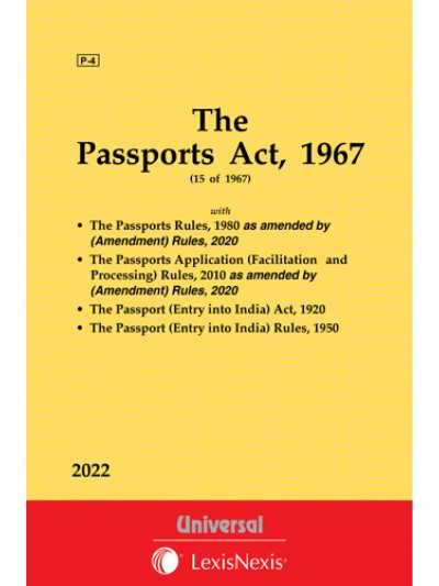 Passports Act, 1967 along with Rules, 1980