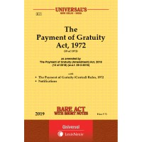 Payment of Gratuity Act, 1972 along with Rules, 1972