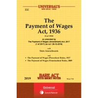 The Payment of Wages Act, 1936 along with (Procedure) Rules, 1937
