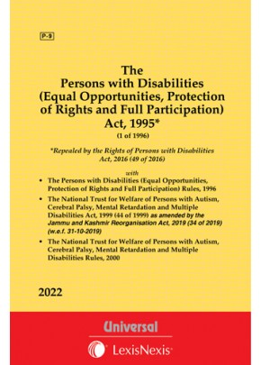 Persons with Disabilities (Equal Opportunities, Protection of Rights and Full Participation) Act, 1995