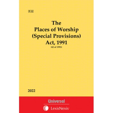 Places of Worship (Special Provisions) Act, 1991