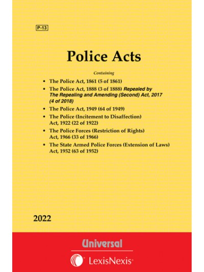 Police (Incitement of Disaffection) Act, 1992 see Police Acts (6 Acts in 1)