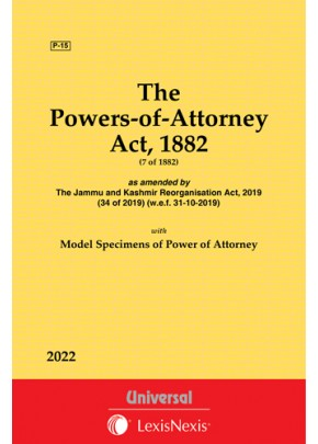 Powers-of-Attorney Act, 1882