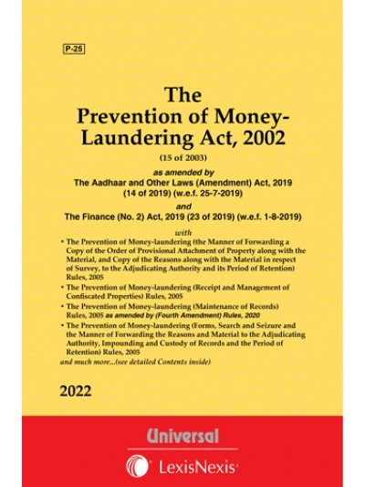 Prevention of Money Laundering Act, 2002 along with allied Rules