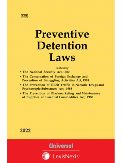 Prevention of Illicit Traffic in NDPS Act, 1988 see Preventive Detention Laws