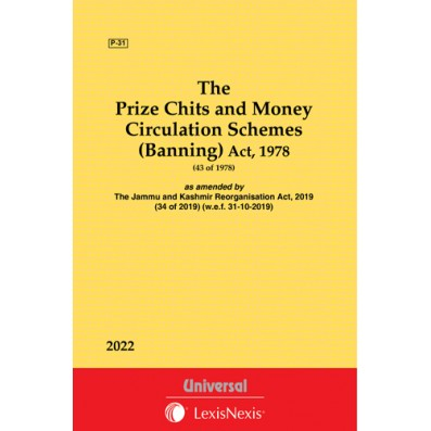 Prize Chits and Money Circulation Schemes (Banning) Act, 1978