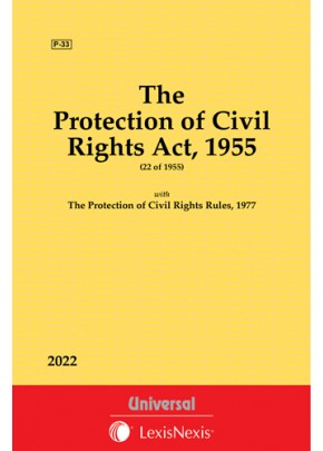 Protection of Civil Rights Act, 1955 along with Rules, 1977